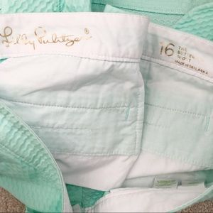 "Lilly Pulitzer Shorts - Lilly Pulitzer 5"" Buttercup Scallop Hem Short"